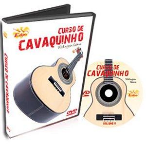 Curso DVD de Cavaquinho Iniciantes Vol 2 Edon