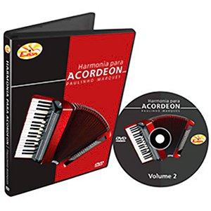 Curso DVD De Harmonia Para Acordeon Vol2 Edon