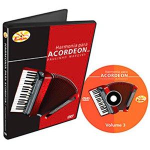 Curso DVD De Harmonia Para Acordeon Vol 3 Edon