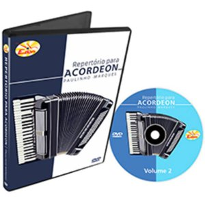 Curso DVD De Repertório Para Acordeon Vol 2 Edon