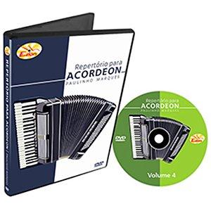Curso DVD de Repertório Para Acordeon Vol 4 Edon