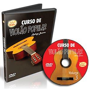Curso DVD de Violão Popular Avançado Vol 3 Edon