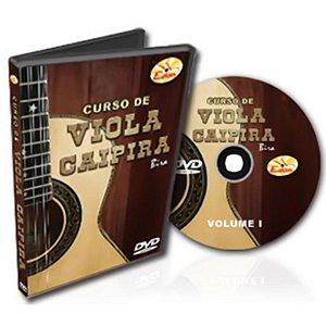 Curso DVD Viola Caipira Vol 1 Edon