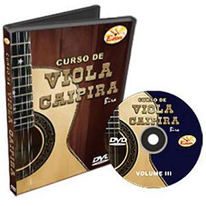 Curso DVD Viola Caipira Vol 3 Edon
