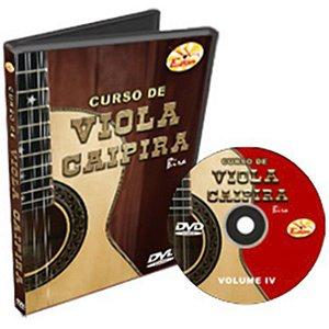 Curso DVD Viola Caipira Vol 4 Edon