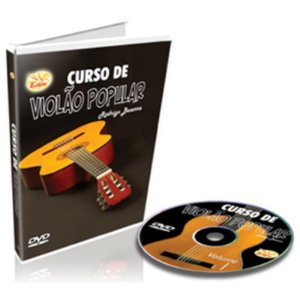 Curso DVD Violão Popular para Iniciantes Vol 1 Edon