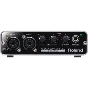 Duo Capture Ex Interface De Audio Usb Roland Ua22