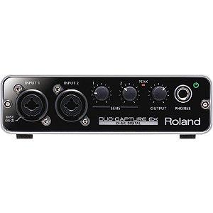 Duo Capture Ex Interface De Audio Usb Roland Ua22
