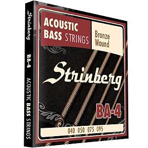 Encordoamento Baixolão 4 Cordas 040 Strinberg Ba4