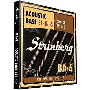 Encordoamento Baixolão 5 Cordas 040 Strinberg Ba5