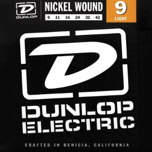 Encordoamento Guitarra 009 Dunlop Nickel Wound Light