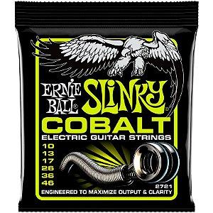 Encordoamento Guitarra 010 Ernie Ball Slinky Cobalt 2721