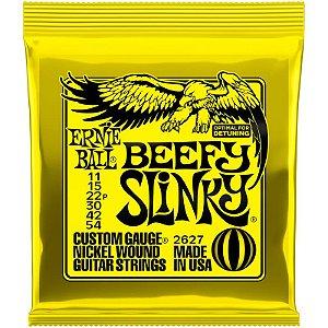 Encordoamento Guitarra 011 Ernie Ball Beefy Slinky 2627