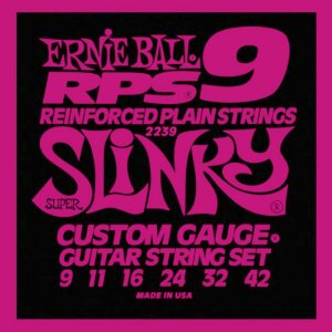 Encordoamento Guitarra 09 Ernie Ball Rps9 Super Slinky