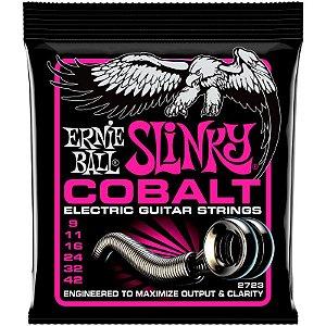 Encordoamento Guitarra 09 Ernie Ball Slinky Cobalt 2723