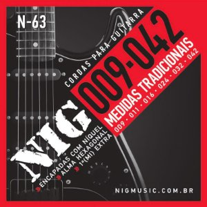 Encordoamento Guitarra Nig 009 N63 Traditional Class
