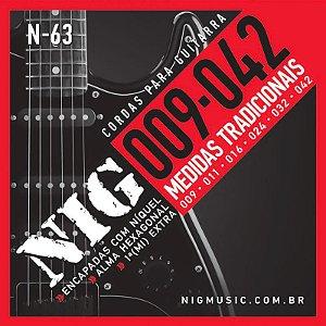 Encordoamento Guitarra Nig 009 N63 Traditional Class