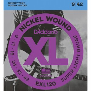 Encordoamento Para Guitarra 09-042 Daddario EXL120
