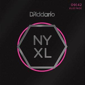 Encordoamento Para Guitarra 09-42 Daddario Nyxl0942 Nickel Wound Regular Light
