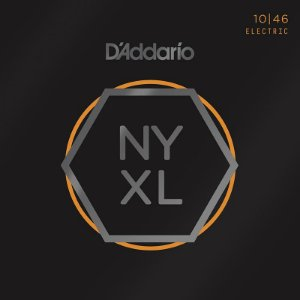 Encordoamento Para Guitarra 10-46 Daddario NYXL1046 Nickel Wound Regular Light