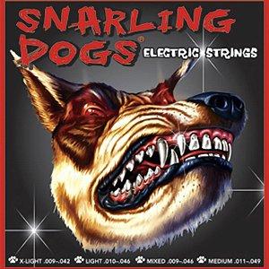 Encordoamento Para Guitarra D'andrea SDN10 Snarling Dogs 010