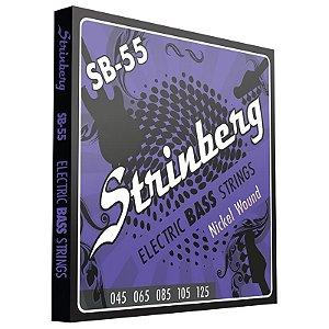 Encordoamento Strinberg 045 Sb55 Contrabaixo 5 Cordas