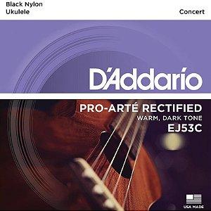 Encordoamento Ukulele Concert Daddario Ej53c Pro-Arté Rectified