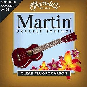 Encordoamento Ukulele Soprano Nylon Martin M600