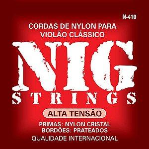 Encordoamento Violão Nylon Nig N410 Alta Tensão
