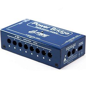Fonte Fire Power Bridge 9V Para 10 Pedais Azul