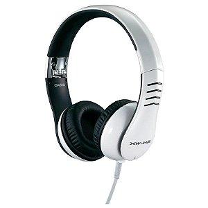 Fone de ouvido Headphone Casio Xw-h2 Branco