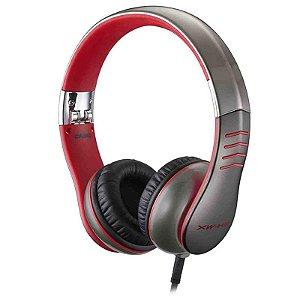 Fone de ouvido Headphone Casio Xw-h3 Vermelho