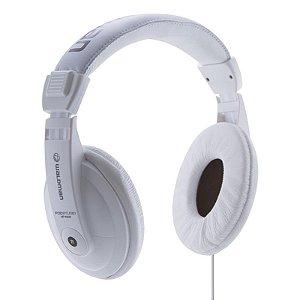 Fone De Ouvido Waldman Hp1000 Headphone Branco Com Adaptador P10