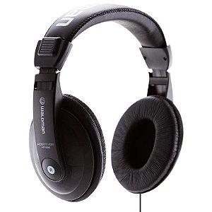 Fone De Ouvido Waldman Hp1000 Headphone Preto Com Adaptador P10