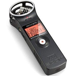 Gravador De Áudio Zoom H1 Com Cartão 2gb Incluso Versão 2.0