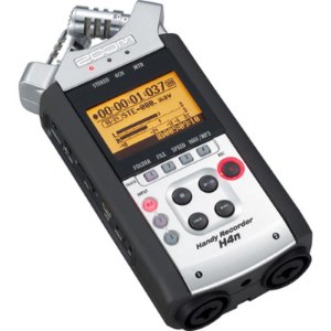 Gravador De Áudio Zoom H4n Sp Digital Handy Recorder