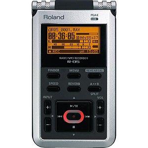 Gravador Portátil Roland R-05 Wave Mp3 Usb