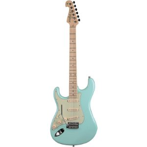 Guitarra Canhota Tagima Stratocaster Hand Made In Brazil Verde Pastel T635 Lh