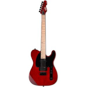 Guitarra ESP LTD LTE200M Telecaster HH See Thru Black Cherry