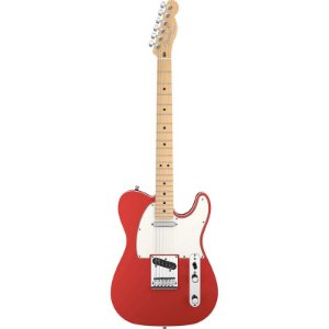 Guitarra Fender Americana Deluxe Mn Telecaster Candy Apple Red