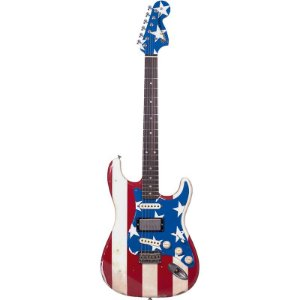Guitarra Fender Signature Wayne Kramer Stratocaster Stars And Stripes