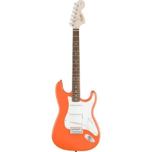 Guitarra Fender Squier Affinity Stratocaster Competition Orange