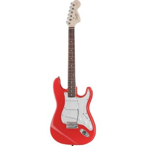 Guitarra Fender Squier Affinity Stratocaster Racing Red