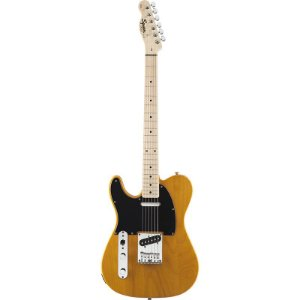 Guitarra Fender Squier Affinity Telecaster LH Butterscotch Blonde Canhota