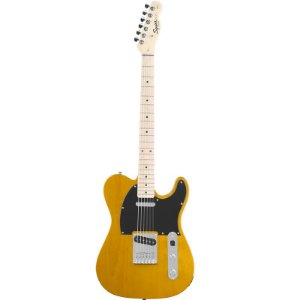 Guitarra Fender Squier Affinity Telecaster Mn Butterscotch Blonde
