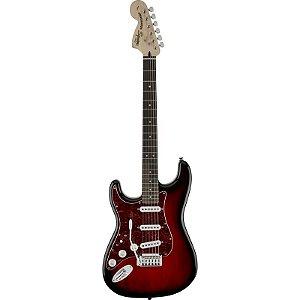 Guitarra Fender Squier Canhota Standard Stratocaster Lh Antique Burst
