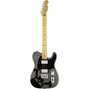 Guitarra Fender Squier Scandal Haruna Telecaster Silver Flake Sparkle