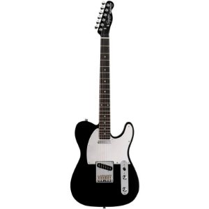 Guitarra Fender Squier Standard Series Telecaster Black Chrome