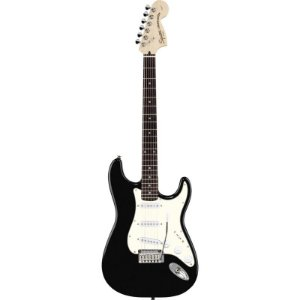 Guitarra Fender Squier Standard Stratocaster Preto Metálico