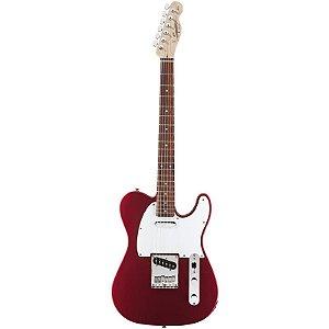 Guitarra Fender Squier Telecaster Affinity Rw Crimson Red Metallic